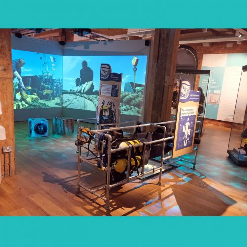 NMRN: Diving Deep – HMS Invincible 1744 Exhibition