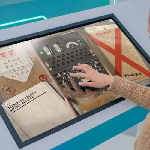 NMRN: Enigma Machine Interactive